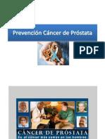 Prevención cancer de Prostata