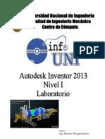 Manual Inventor 2013 - Nivel 1 - Laboratorio