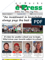 Upper Bucks Free Press • September 2012