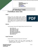 Alternatif Teknologi Untuk Pendidikan Jarak Jauh 11 1997