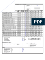 DESIGN CALCULATION FOR PILE LENGTH USING MEYERHOFF FORMULAE
