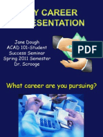 1Sample Career PowerPoint Presentation