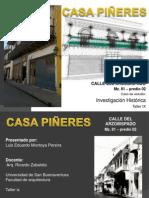 Investigación Historica Casa Piñeres