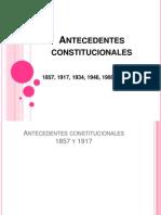 Antecedentes Constitucionales de 1993