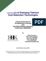 Emerging Titanium