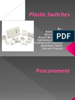 Supply Chain Management for Plastic switches