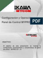 Presentación Configuración y Operación Mypro CP-IV