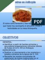 Dulces y Postres en Antioquia