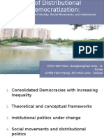 Cho-ChenRegression of Distributional Politics in Democratization