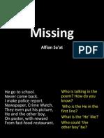 Missing PPT