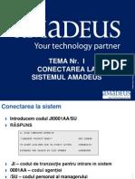 Programul AMADEUS 2010