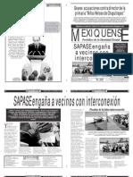 Versión impresa del periódico El mexiquense 4 septiembre 2012