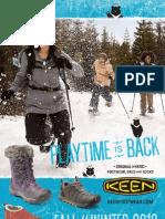 KEEN 2012FW產品目錄