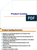 SAP CO-PC Product Costing Workshop PPT