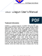 x 431 Diagun Manual