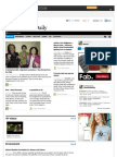 Good Causes Daily 12 August 2012