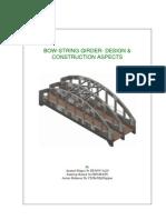 Bow-string Girder- Design & Construction Aspects