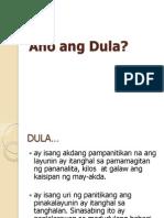Ano Ang Dula