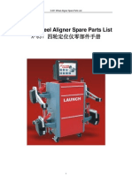 X-631 Spare Parts List