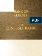 Bank of Albania Our Central Bank