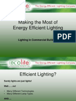 Low Enery Lighting - Ecolite 11-10