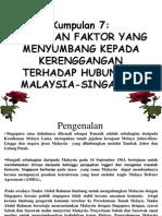 Hubungan Malaysia-Singapura Present