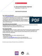 READ2012 Participation Guidelines