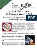 September 2012 TSTI Bulletin