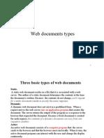 15.Web Document Types