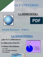 Trabajo Sobre La Hidrosfera