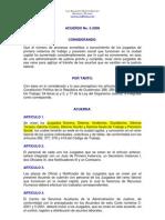 Acuerdo 05-2008 Creación Juzgados 9-16 de Trabajo