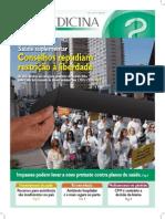 Edição 211 do jornal Medicina traz repúdio das entidades contra restrições do Cade