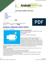 GUJ - Instalando e Configurando o JDK No Windows
