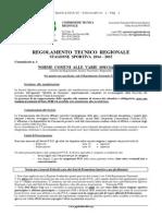 1° Comunicato Regionale 2014-2015