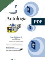Antología de Contabilidad III CP0417 IV Cuatri. Sabatino Mat. SEP- DIC 2012