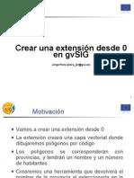 Crear Extensiones en GvSIG
