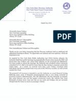 Thruway Authority Denial Letter