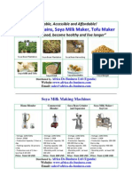 ADB Soya Products and Machines