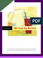 101 Iced Tea Recipes
