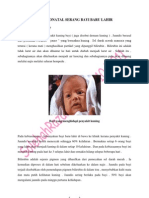 Jaundis Neonatal Serang Bayi Baru Lahir ( Artikel )
