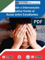 Material Prevención y Detección del Acoso entre Estudiantes -  MINEDU