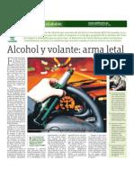 Alcohol y Volante Arma Letal