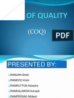 Cost of Quality-Presentation