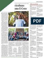 Biólogo piracicabano vence programa E-Cons - Jornal de Piracicaba, 2 Setembro 2012