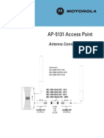 AP-5131 Access Point Antenna Connection Guide