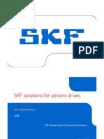 Soluciones SKF para Piñones-INGLÉS
