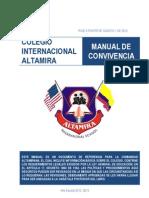 MANUAL DE CONVIVENCIA - Altamira International School
