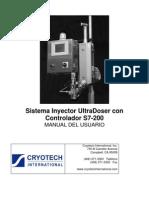 Ultradoser S7200 Manual 022007 Spanish