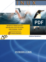 Linux (Introduccion - Instalacion y Procesos)