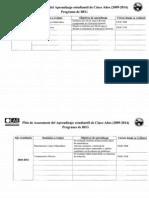 Plan de 5 años - Programa General de Estudios Generales